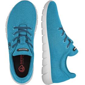 Giesswein W's Merino Runners Mid Shoes Cyanblue